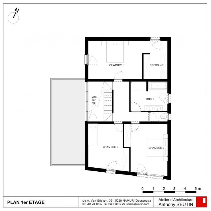 Plan de maison basse for Plan maison basse
